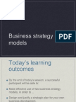 Strategic Business Models RH