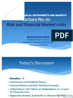 Advance Financial Instruments and MarketsLecture No. 02_ Risk and Financial Crisi