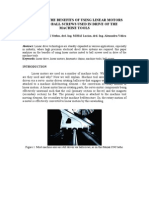 Studies on the Benefits of Using Linear Motors Insted to Ball Screws Used in Drive of the Machine Tools