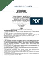 20. Regolamento Interno Consiglio Valle d'Aosta 2011- 5. Titolo