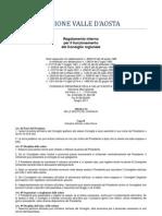 22. Regolamento Interno Consiglio Valle d'Aosta 2011- 6. Titolo - 2 Capo