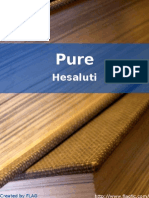 Hesaluti - Pure