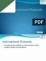 internationalmarketingchannelppt