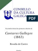 Cantares Gallegos Facsimile