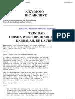 Afrikan & Hindu Deities