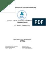 CA Access Control Common Criteria Report_st_vid10341-Vr