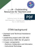OTAN – Outstanding Resources