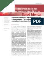 Trastornos Conducta Demencia