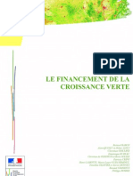 Le Financement de La Croissance Verte