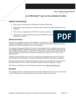 Actividad 2.6.2 Uso de Wireshark