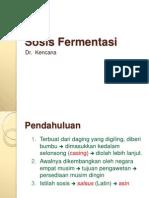 KULIAH - FERMENTASI SOSIS