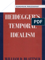 Blattner - Heideggers Temporal Idealism