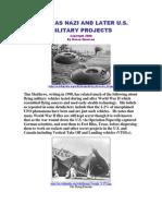 UFO- Nazi Projects