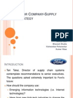Ford Motor Corp Final Ppt