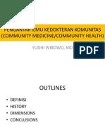 Pengantar Ilmu Kedokteran Komunitas
