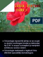 Curs 1 Ocluzologie