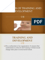 Methods of Training and Development(Neeraj)