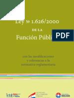 Ley Nº 1626 2000 De la Función Pública