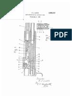 Lock Mechanism for Automatic Guns (US2098727)
