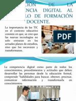 INTEGRACIÓN DE LA COMPETENCIA DIGITAL TIC