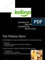 P'kolino Presentation By Manish Saran