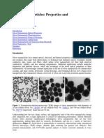 Silver Nanoparticles Data