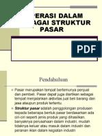 16. Koperasi Dalam Berbagai Struktur Pasar