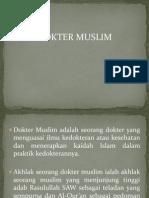 Dokter Islam Ppt