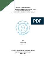 Lembar Pengesahan & Cover_Proposal KP