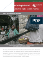 Is Tourism Haiti's Magic Bullet? An Empirical Treatment of Haiti's Tourism Potential