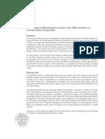 FIDIC Guidance Memorandum 1 April 2013