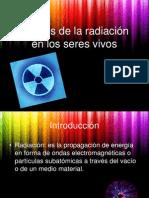 Efectos de Radioctividad