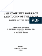 The Complete Works of Saint John of the Cross Volume 2