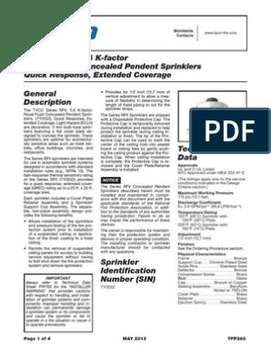 TFP260_05_2013 pdf | Fire Sprinkler System | Building