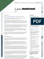 Rhenald Kasali Blogspot Com 18