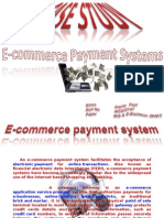 Case Study of E-Commerce Payment System