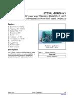 STEVAL-TDR001V1