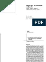 El análisis del rendimiento institucional teoria y aplicacion a las comunidades autonomas