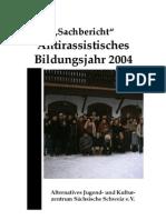 Sachbericht 2004