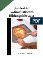 Sachbericht 2011