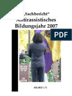 Sachbericht 2007