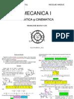 Probleme Mecanica I