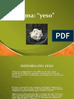 Diapositiva Del Yeso Original Arreglado