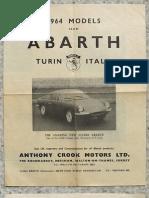 Abarth 1964 Models