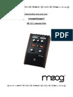 MF-101 Lowpass Filter