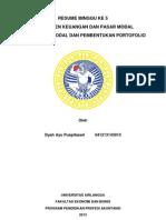 Teori pasar modal & Pembentukan Portofolio.docx