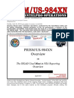 PRISM/US-984XN Cyber Cointelpro Operations