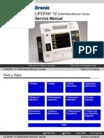 Defibrillator/Monitor LIFEPAK 12 Service Manual