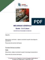 Mecanique Generale