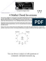 4 Mallet Chord Inversion - Mallets
